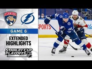 Florida Panthers vs Tampa Bay Lightning R1, Gm6 May 26, 2021 HIGHLIGHTS
