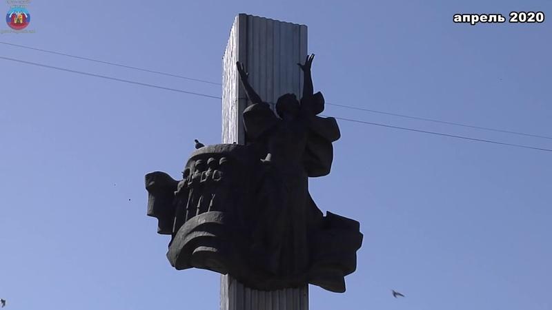 В луганске завершается Реконструкция мемориального комплекса Могила неизвестного солдата и памятник Героям Советского Союза