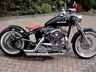Harley Davidson 1200 sportster bobber chopper UK hard tail 1)