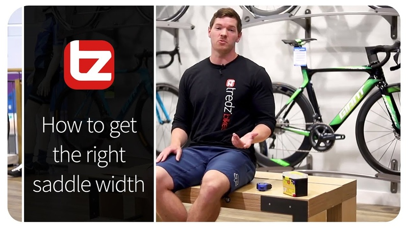 How To Get The Right Saddle Width | How to | Tredz Bikes