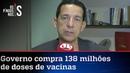 José Maria Trindade Bolsonaro marca gol de placa com compra de vacinas