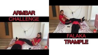 #falaka #trample #face ARMBAR CHALLENGE(KOL KIRIŞI)YAPTIK//FALAKA TRAMPLE(SIRT ÇİĞNEME) CEZALI