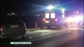 Лобовое столкновение: недалеко от Бийска произошло серьёзное ДТП (г., Бийское телевидение)