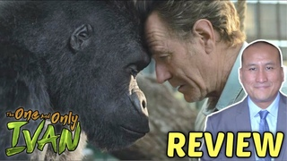 Movie Review: Disney+ 'THE ONE AND ONLY IVAN' Voice-Starring Angelina Jolie & Sam Rockwell
