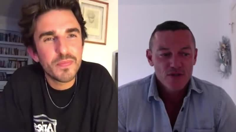 Teo van den Broeke My Isolation Essentials with Luke Evans