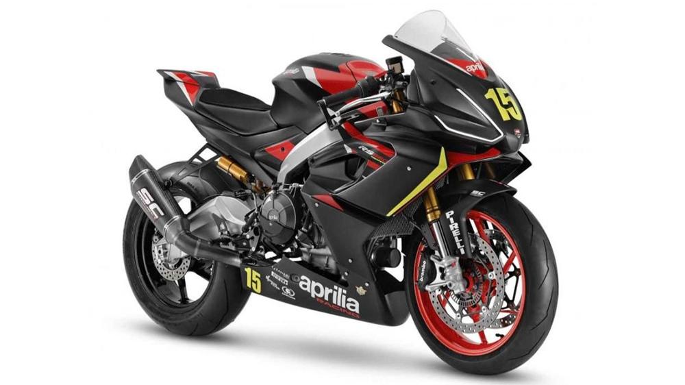 Гоночный мотоцикл Aprilia RS 660 Trofeo