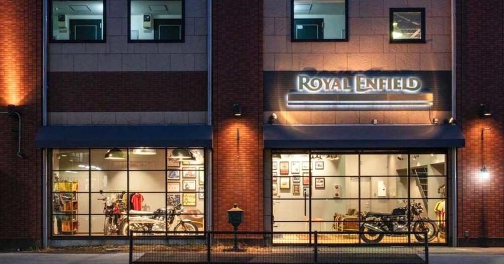 В Японии открыли первый магазин Royal Enfield