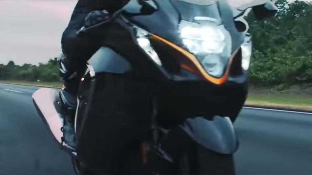 Проморолик Suzuki Hayabusa 2021