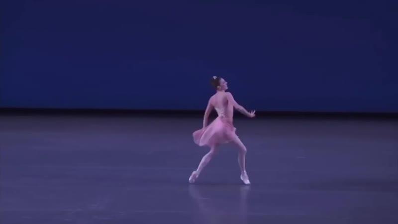 Tiler Peck and Andrew Veyette in Balanchine's Allegro Brillante ✨