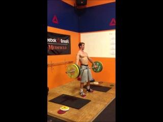 Muscle Snatch PR 8-13-2013 Spencer Hendel
