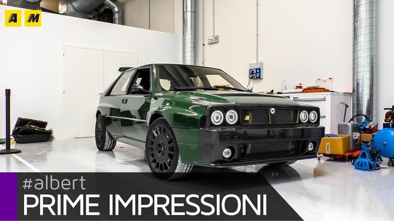 Lancia Delta Futurista by Automobili Amos | La ciliegina sul Deltone