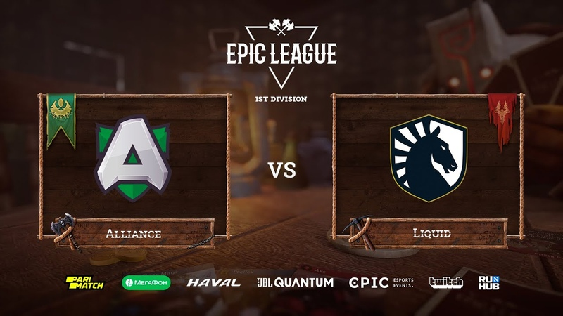 Alliance vs Liquid EPIC League Season 2 bo3 game 2 Smile Jam