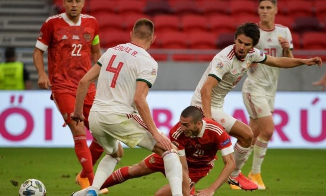 Россия - Венгрия, 0:0. Алексей Ионов