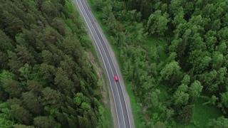 VW T3 Multivan drone trip