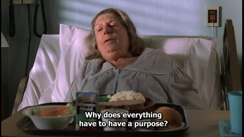 Why does everything have to have a purpose The Sopranos Сезон 2