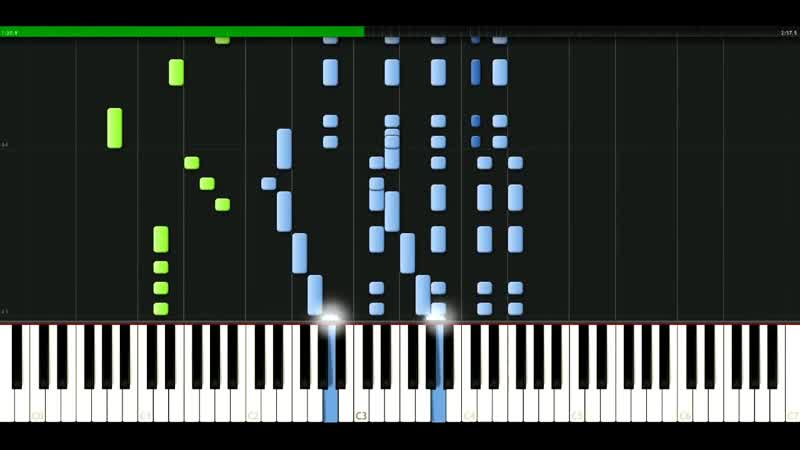 David Bowie - The man who sold the world [Piano Tutorial] Synthesia passkeypiano