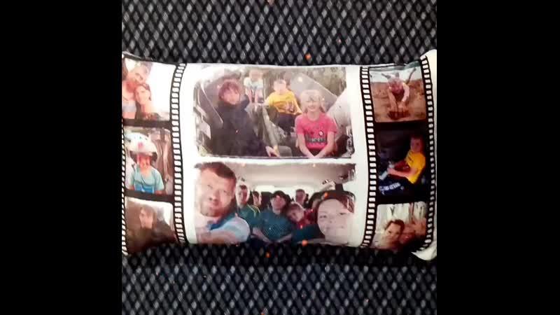 Подушка Плюш 40х70 с фото