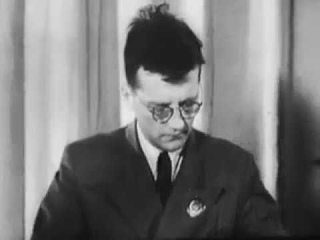 Блокада Ленинграда. Кинохроника. Шостакович исполняет фрагмент 7-й симфонии. Ч.4.