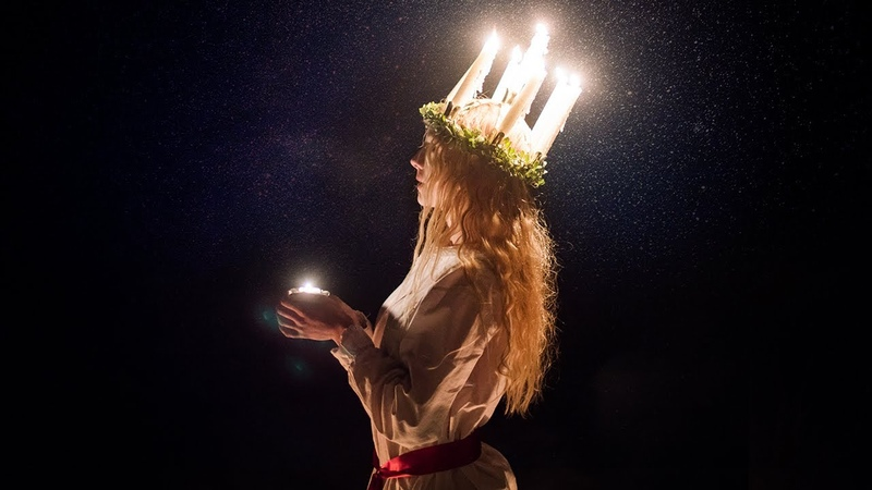 Light in the darkness Swedish Lucia Tradition