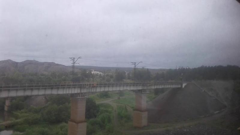 Отправление со станции Дружинино