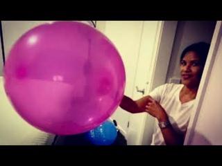 Orange | Pink Magenta | Blue Balloons 🎈 Happy Birthday Request!!