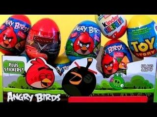 Киндер Сюрприз Яйца и Игрушки (Kinder Surprise Eggs and Toys) Видео для детей