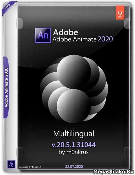 Adobe Animate 2020 v.20.5.1.31044 Multilingual by m0nkrus (2020)