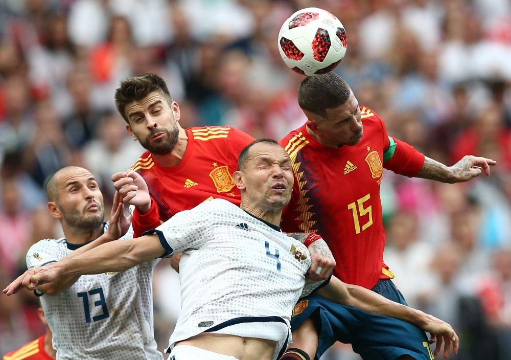 Россия - Испания. Чемпионат мира 2018