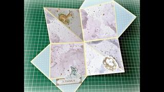 Скрапбукинг идеи для альбома ручной работы/конструкция/открытка/pop up