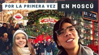 MEXICANOS EN MOSCÚ – Su reacción a la capital de Rusia | Plaza roja, mercado de navidad #Katya2RU