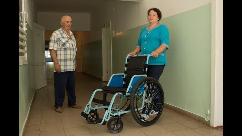 Лікарні у містах Умань, Христинівка та Монастирище забезпечено інвалідними візками