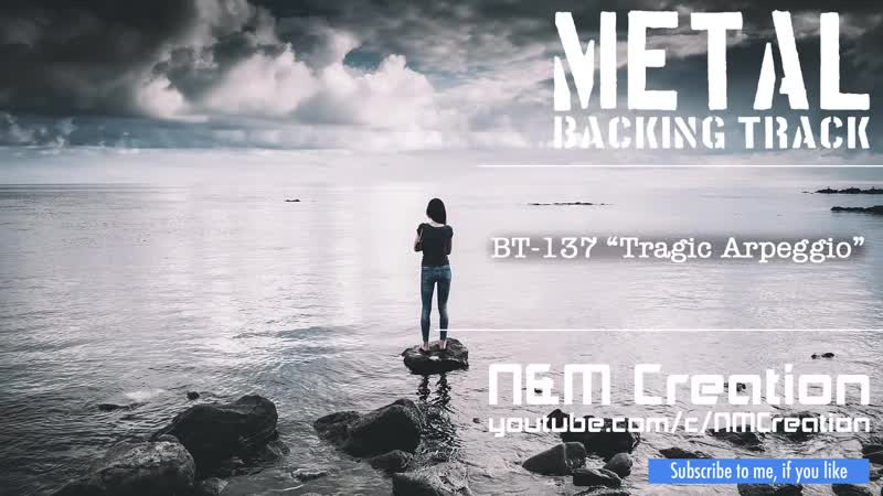Sad RockMetal Ballad Backing Track in | BT-137