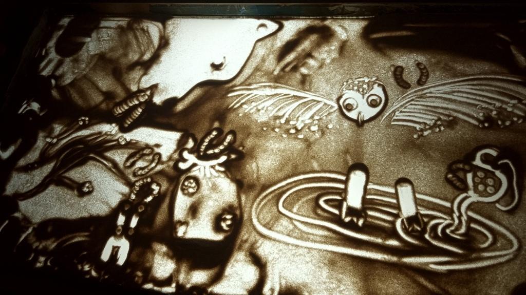Фестиваль песочной анимации «Мир на ладошках» 3