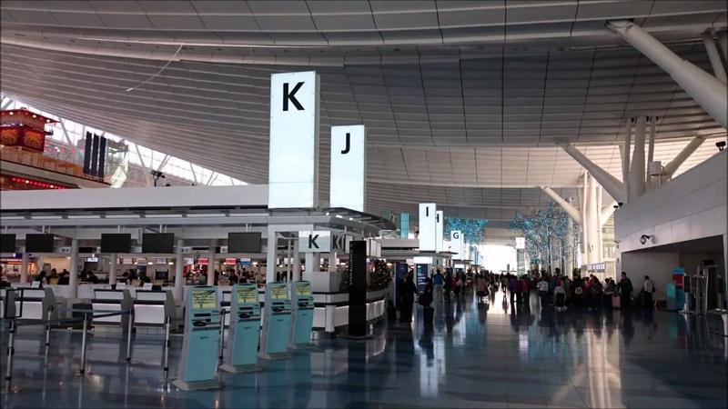 環境音 羽田空港国際線ターミナル出発ロビー