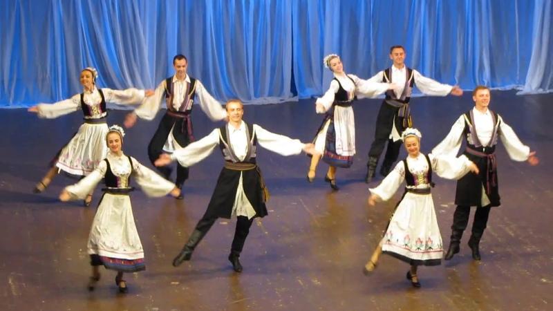 Витебская полька - Госансамбль танца Беларуси 1.06.2016
