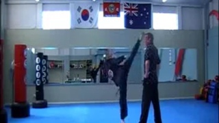 Master Kwon's Kicking demonstration - Accuracy #St George Martial Arts