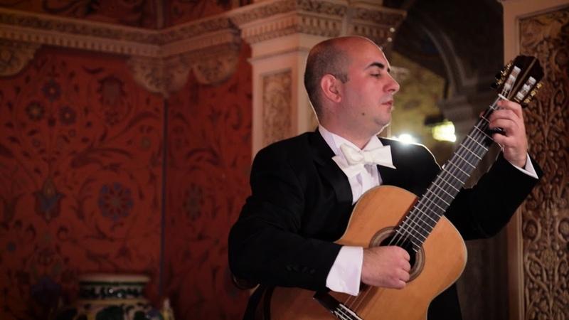 Nemanja Bogunovic plays his composition VALSE AMOROSO at the Royal Palace in Belgrade