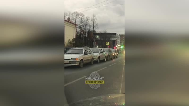 ДТП на Ломоносова - Красноармейской