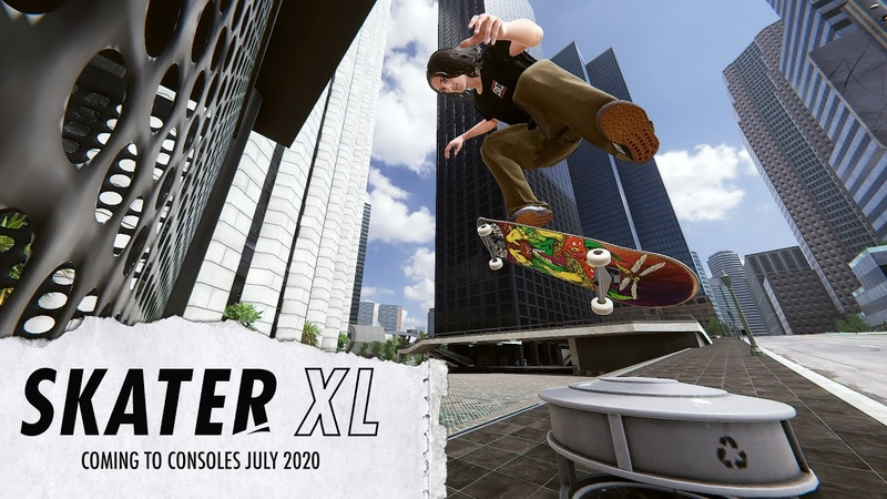 Skater XL Coming to all platforms July 2020