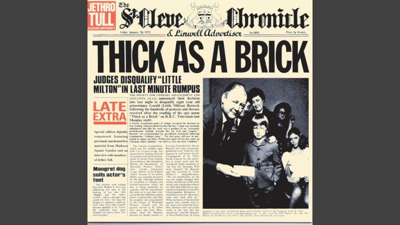 Thick as a Brick Pt 1 1997 Remaster