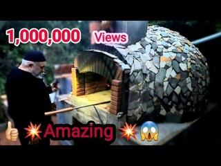 Taş Fırın Pizza Fırın Köy Fırın Nasıl yapılır  DIY | How to Build Wood Fired Brick Pizza Oven DIY