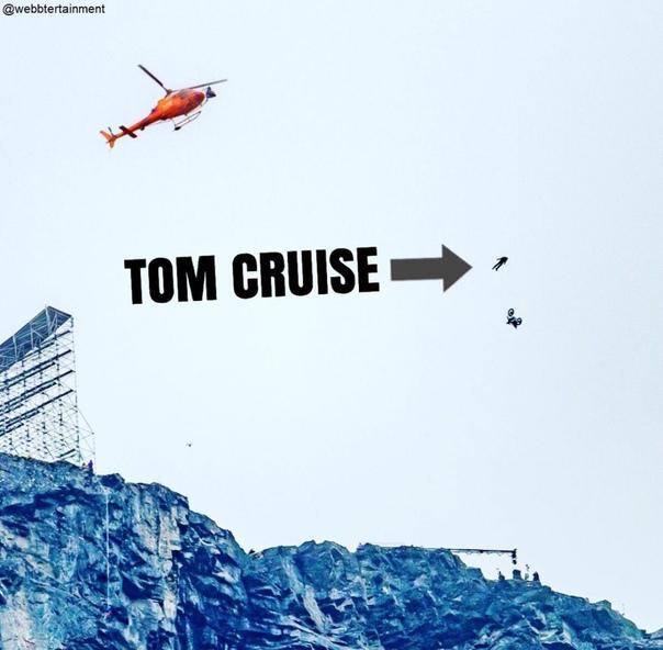 Безумнее некуда: Том Круз выполнил головокружительный трюк для «Миссии: невыполнима 7» 8 сентября 2020 09:30 Круз продолжает поражать своими каскадерскими способностями. Работа над очередной