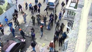 Одесса.2 мая,2014.стрельба под прикрытием милиции